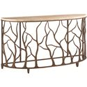 Tommy Bahama Home Road To Canberra Bannister Garden Console Table - Item Number: 542-967