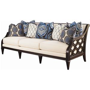 Tommy Bahama Home Royal Kahala Bay Club Sofa