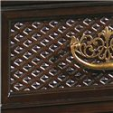 Tommy Bahama Home Royal Kahala Five-Drawer Bottega Dressing Chest - Textured Drawer Fronts