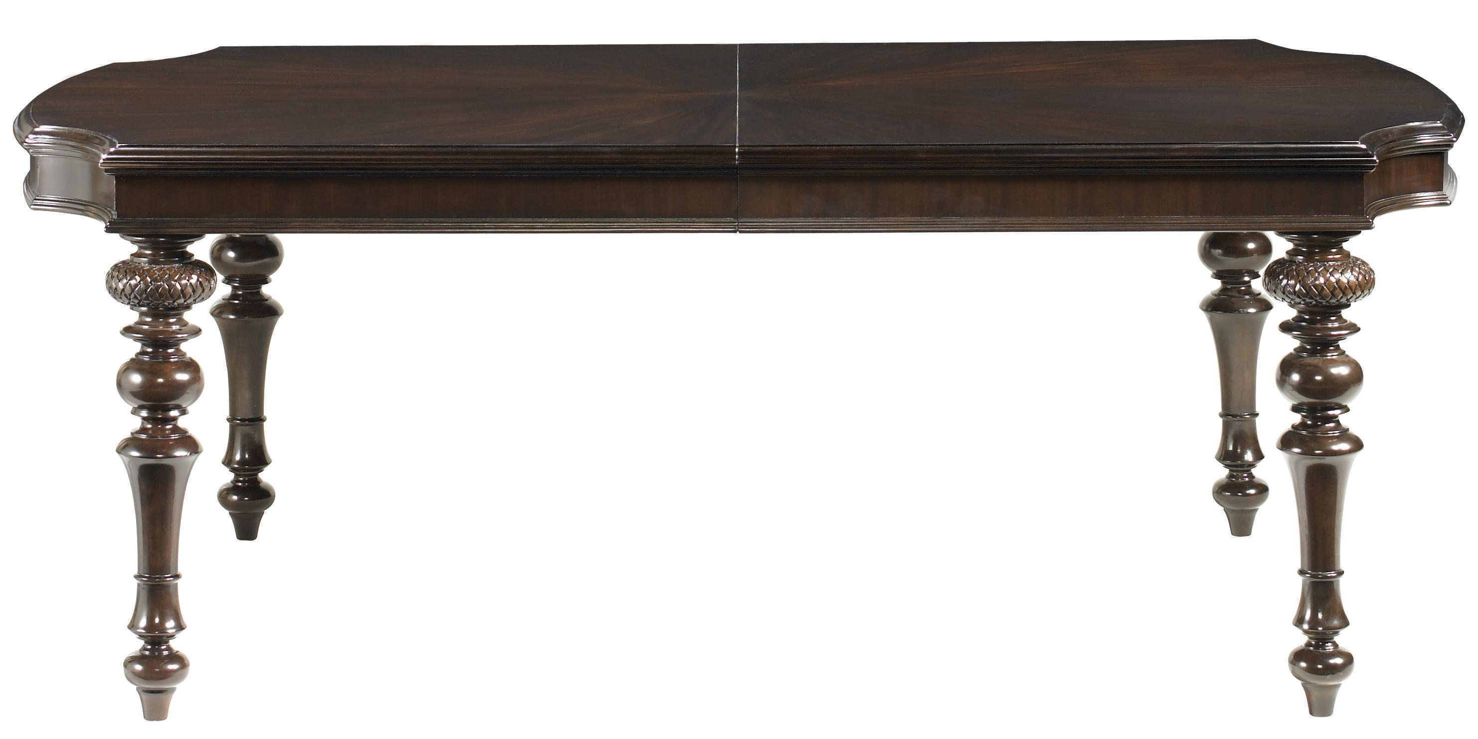 Tommy Bahama Home Royal Kahala Islands Edge Dining Table - Item Number: 537-877