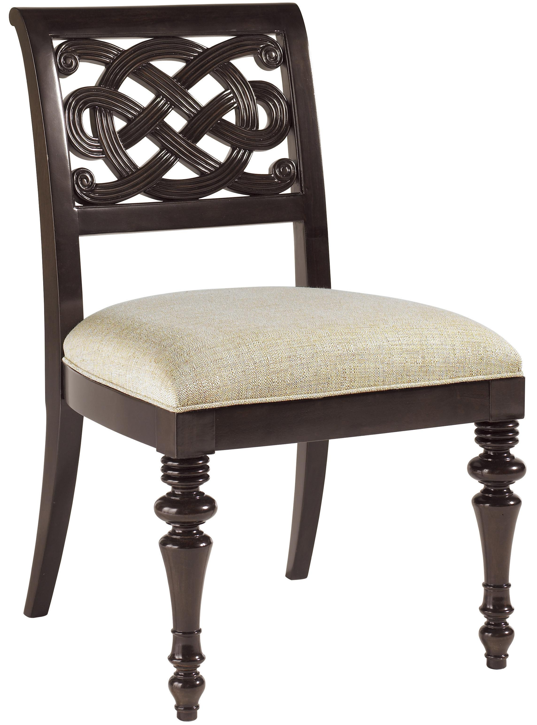 Tommy Bahama Home Royal Kahala Quick Ship Molokai Side Chair - Item Number: 537-882-01