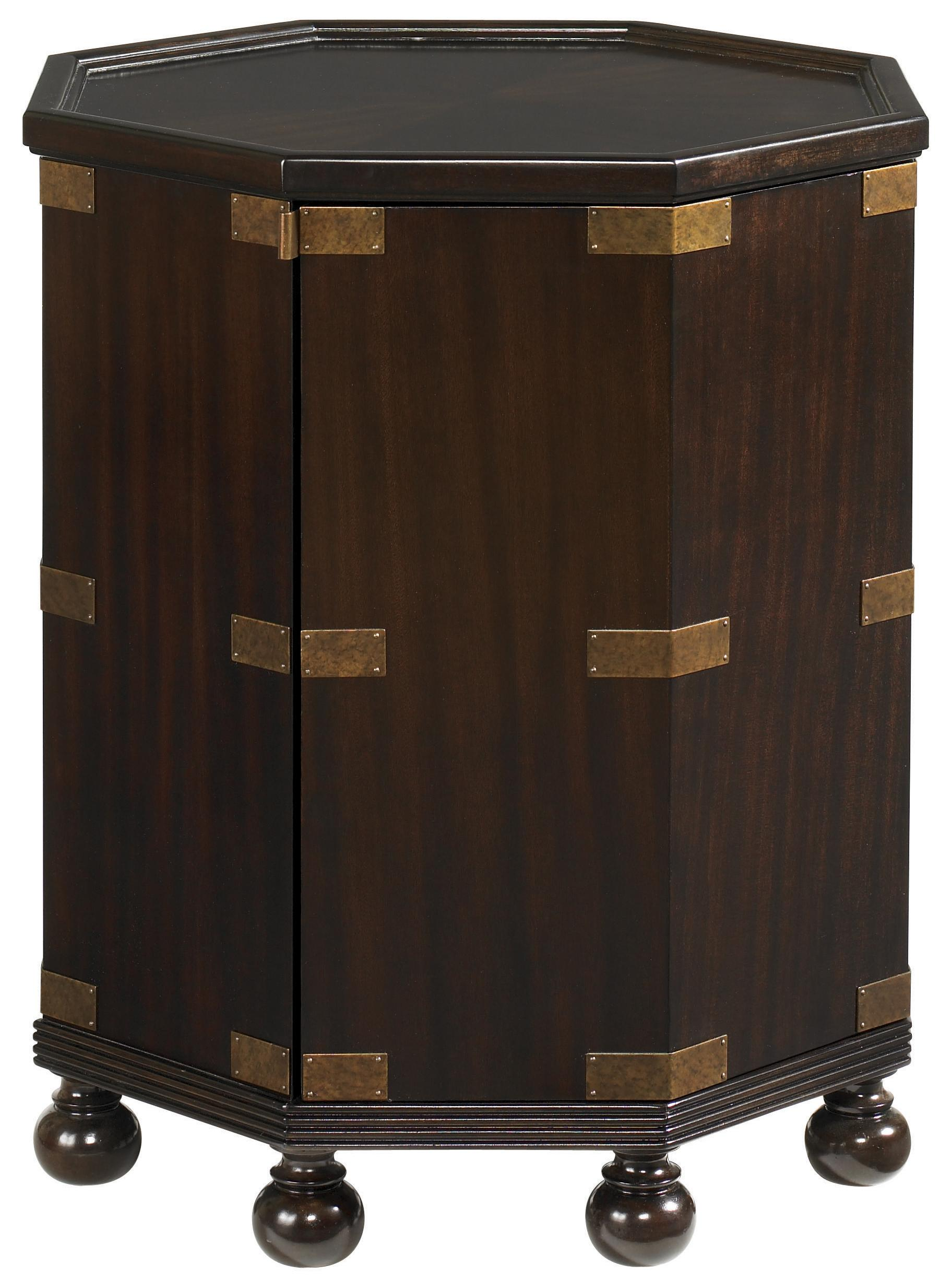 Royal Kahala Pacific Campaign Accent Table by Tommy Bahama Home at Baer's Furniture