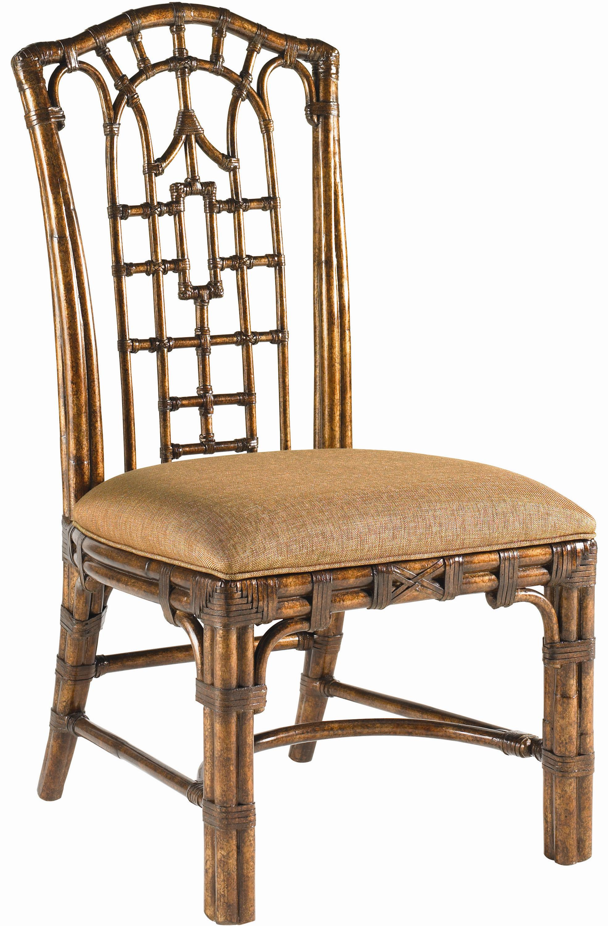 Tommy Bahama Home Royal Kahala Quick Ship Pacific Rim Side Chair - Item Number: 538-880-01