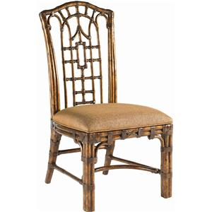 Tommy Bahama Home Royal Kahala Quick Ship Pacific Rim Side Chair
