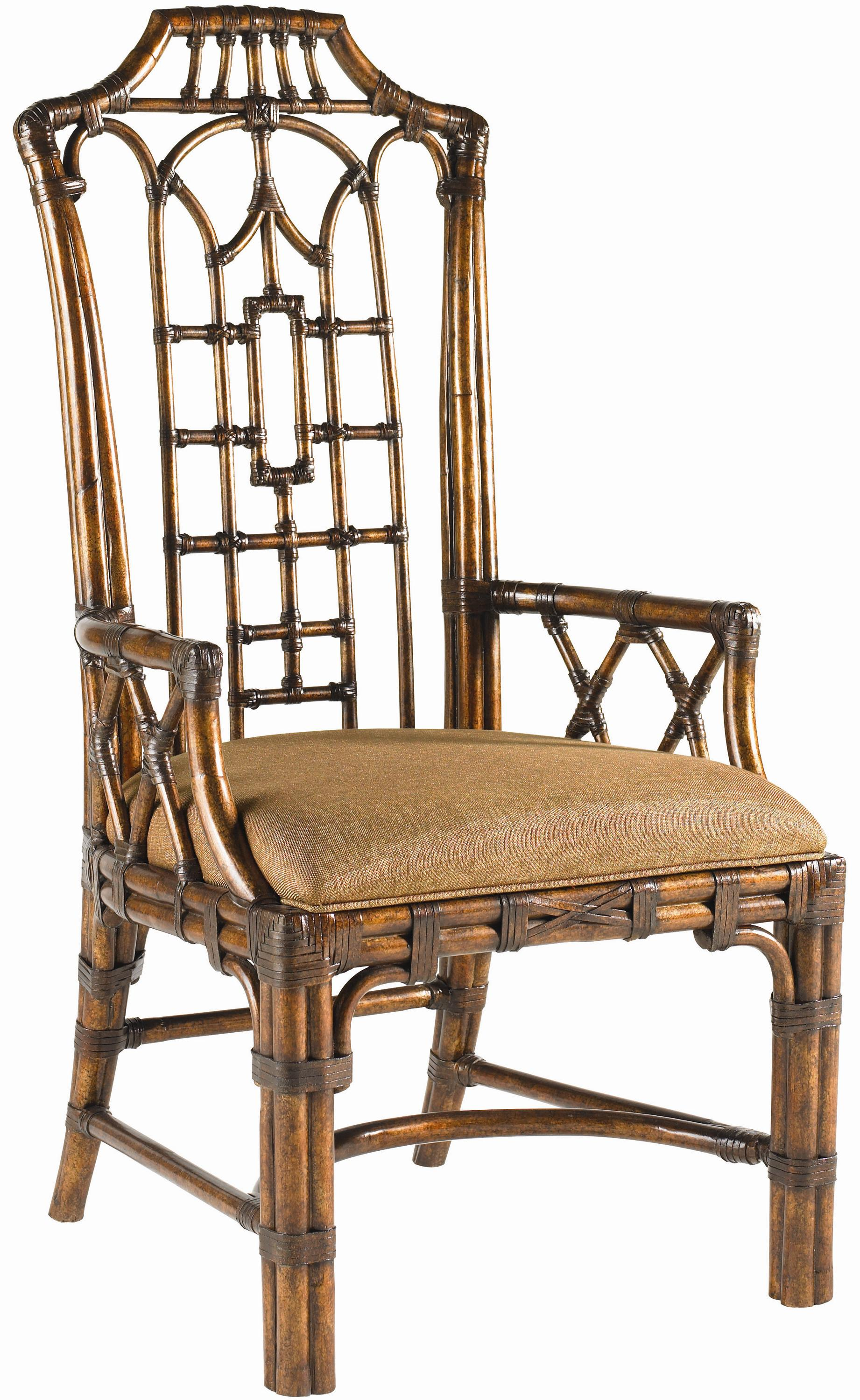 Royal Kahala Quick Ship Pacific Rim Arm Chair by Tommy Bahama Home at Baer's Furniture