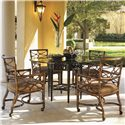 Tommy Bahama Home Royal Kahala 5 Piece Set - Item Number: 539-875+001-054GT+4x538-972