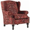 Tommy Bahama Home Royal Kahala Batik Wing Chair - Item Number: 7155-11