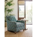 Tommy Bahama Home Royal Kahala Koko Chair with Contrasting Cushions
