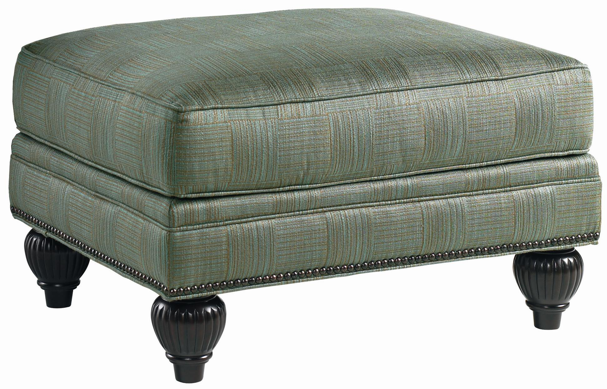 Royal Kahala Edgewater Ottoman by Tommy Bahama Home at Baer's Furniture