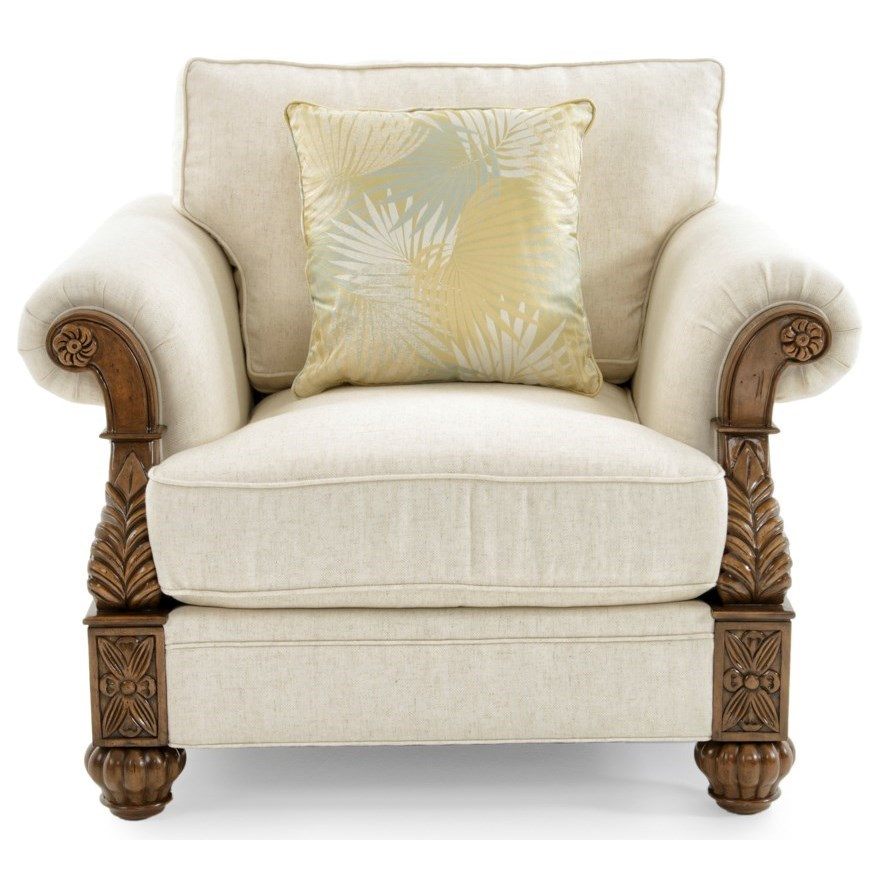 Tommy Bahama Upholstery Benoa Harbour Chair Married by Tommy Bahama Home at Baer's Furniture
