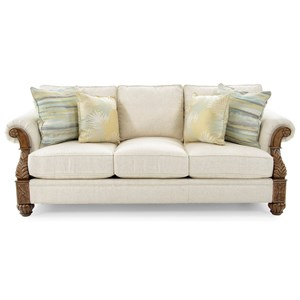 Tommy Bahama Home Tommy Bahama Upholstery Benoa Harbour Sofa Married Fabric
