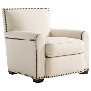 Tommy Bahama Home Tommy Bahama Upholstery Stirling Park Chair