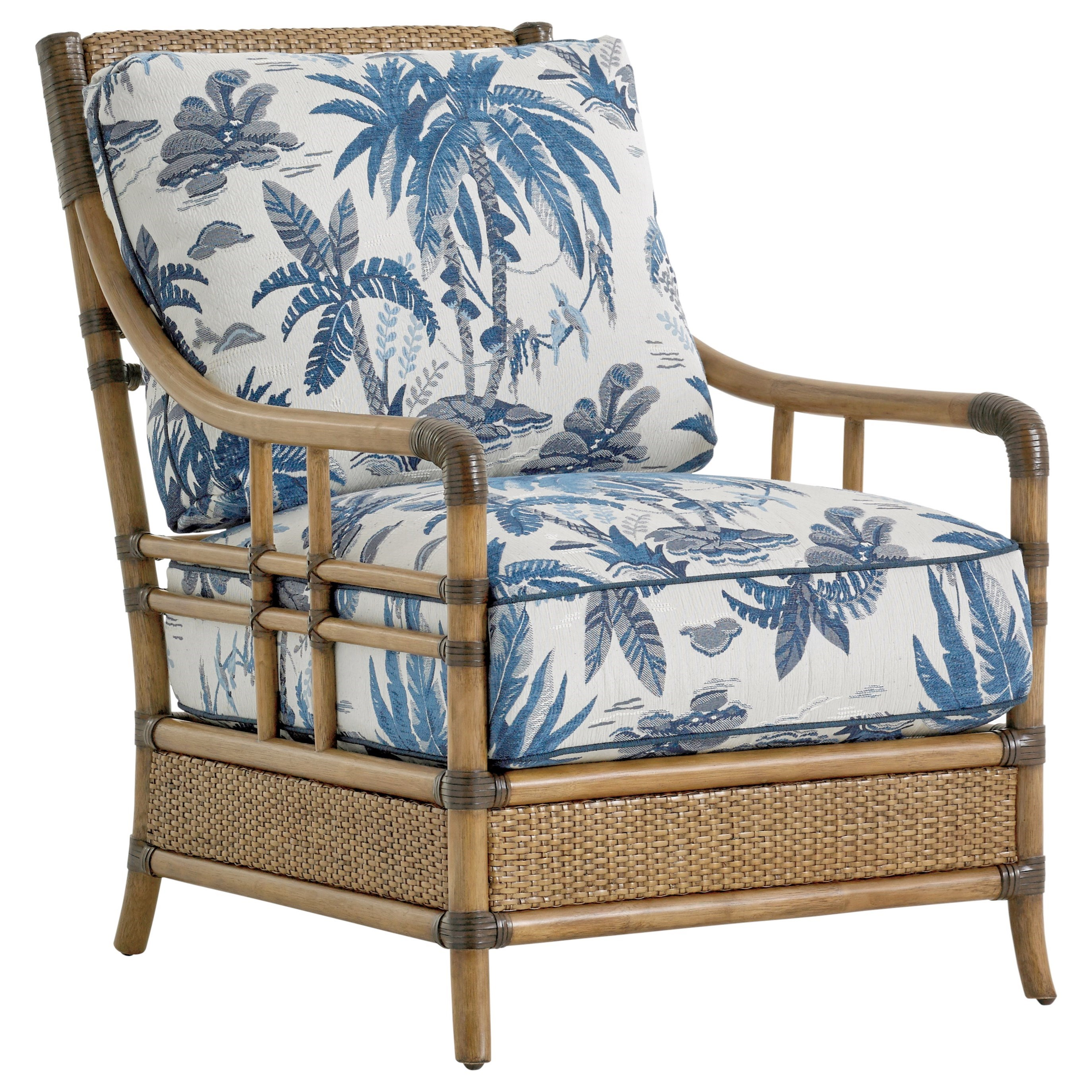 Tommy Bahama Home Twin Palms Seagate Chair - Item Number: 1845-11-6378-31