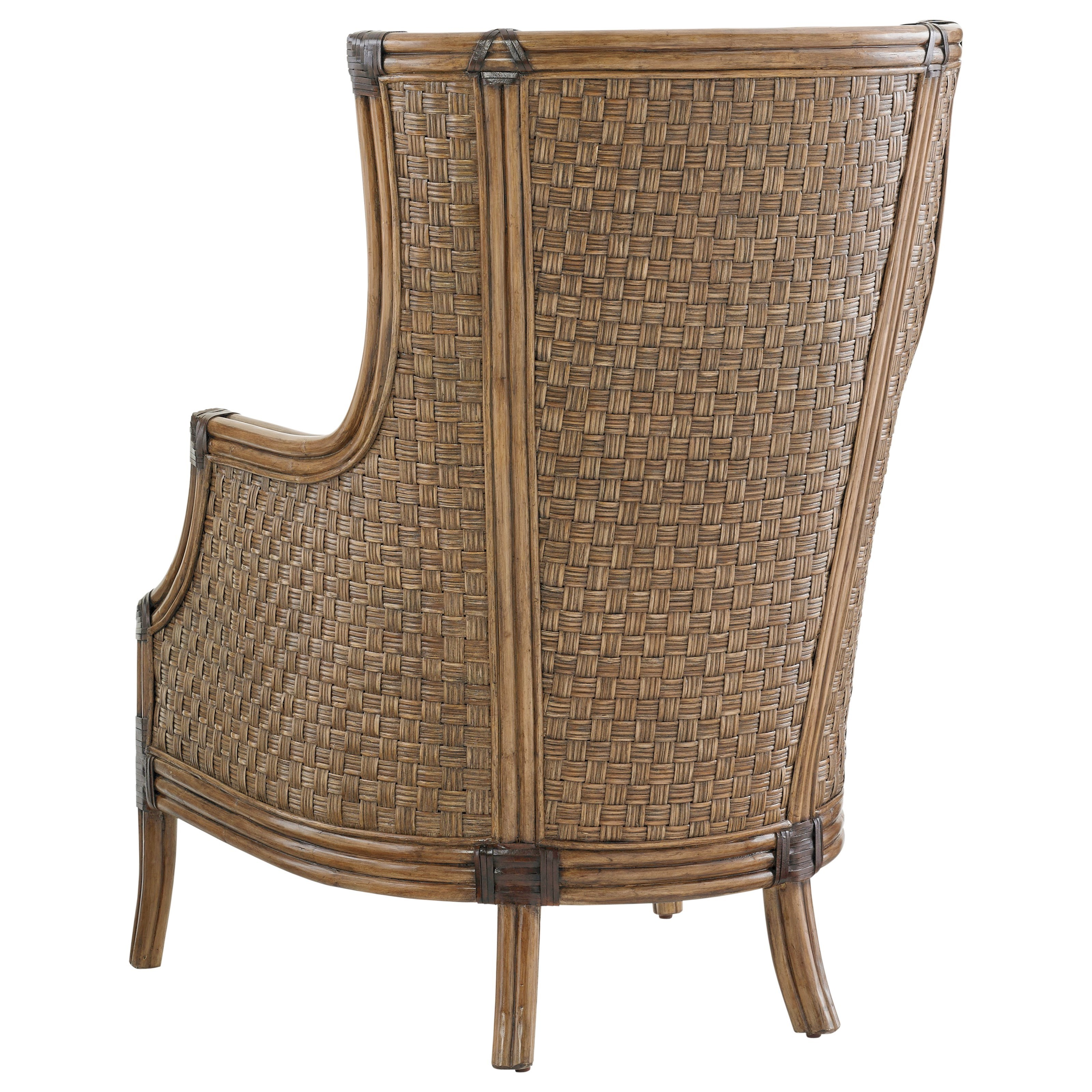 Tommy Bahama Home Twin Palms Coral Reef Upholstered Chair ...