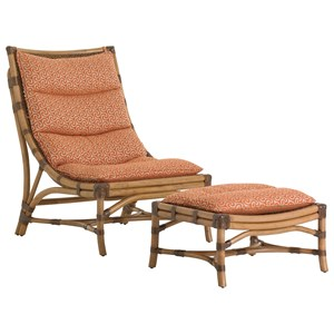 Hammock Bay Chair and Ottoman Set