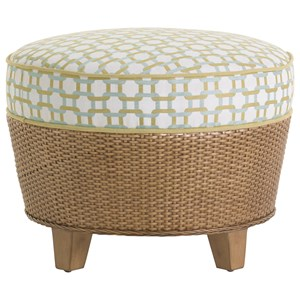 Tommy Bahama Home Twin Palms Lago Mar Ottoman