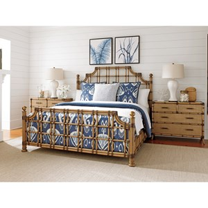 Tommy Bahama Home Twin Palms Bedroom Group