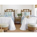 Tommy Bahama Home Twin Palms Twin Bedroom Group - Item Number: 558 T Bedroom Group 2