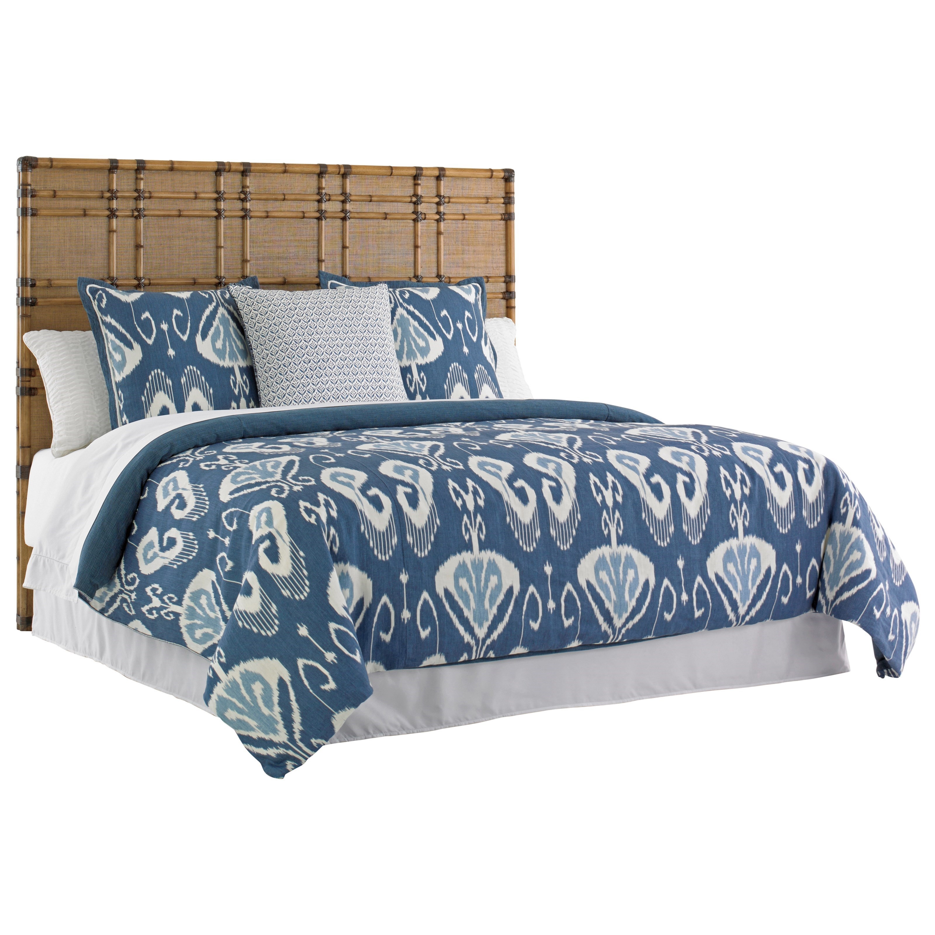 Tommy Bahama Home Twin Palms King Size Coco Bay Headboard - Item Number: 558-134HB