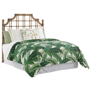 Tommy Bahama Home Twin Palms St. Kitts King Sized Headboard