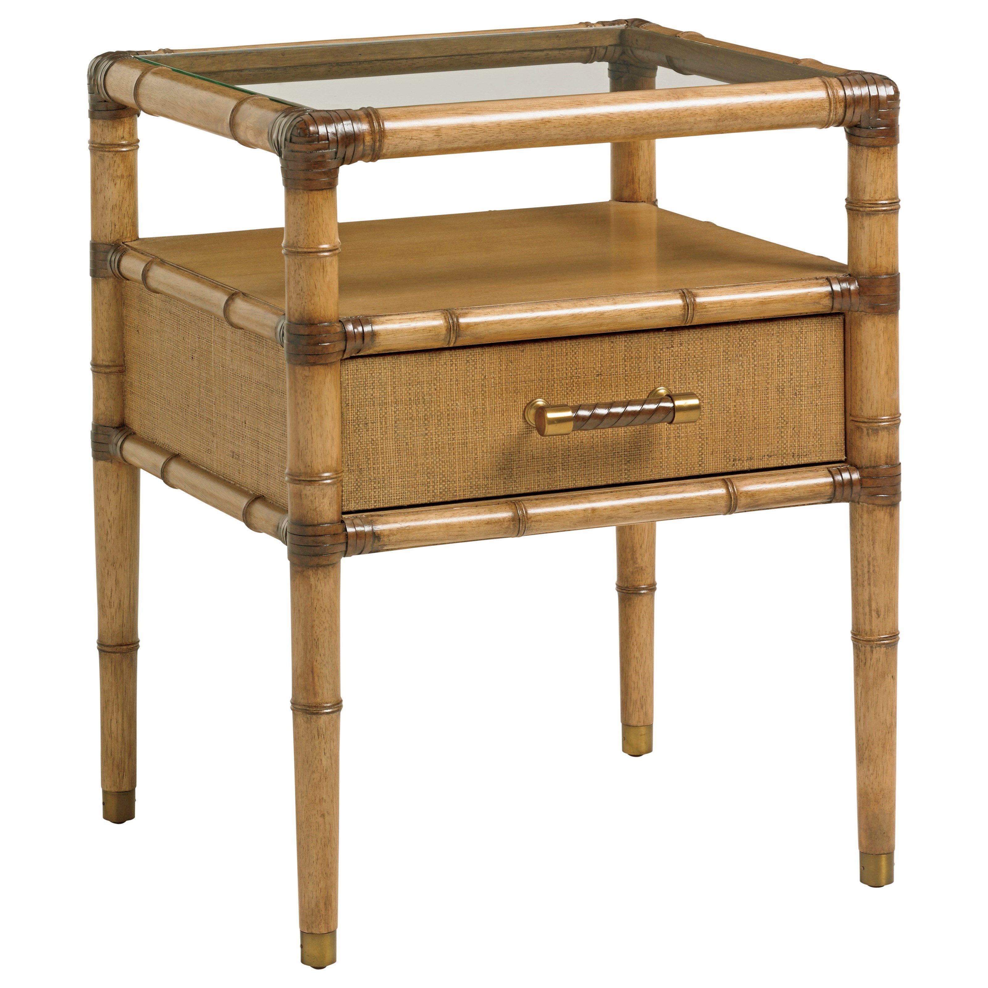 Twin Palms Bayshore Night Table by Tommy Bahama Home at Baer's Furniture