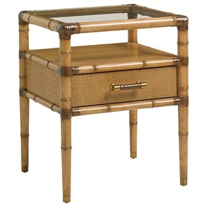 Tommy Bahama Home Twin Palms Bayshore Night Table