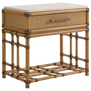 Tommy Bahama Home Twin Palms Cordoba Open Nightstand