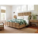 Tommy Bahama Home Twin Palms Cordoba Open Nightstand with Stone Top