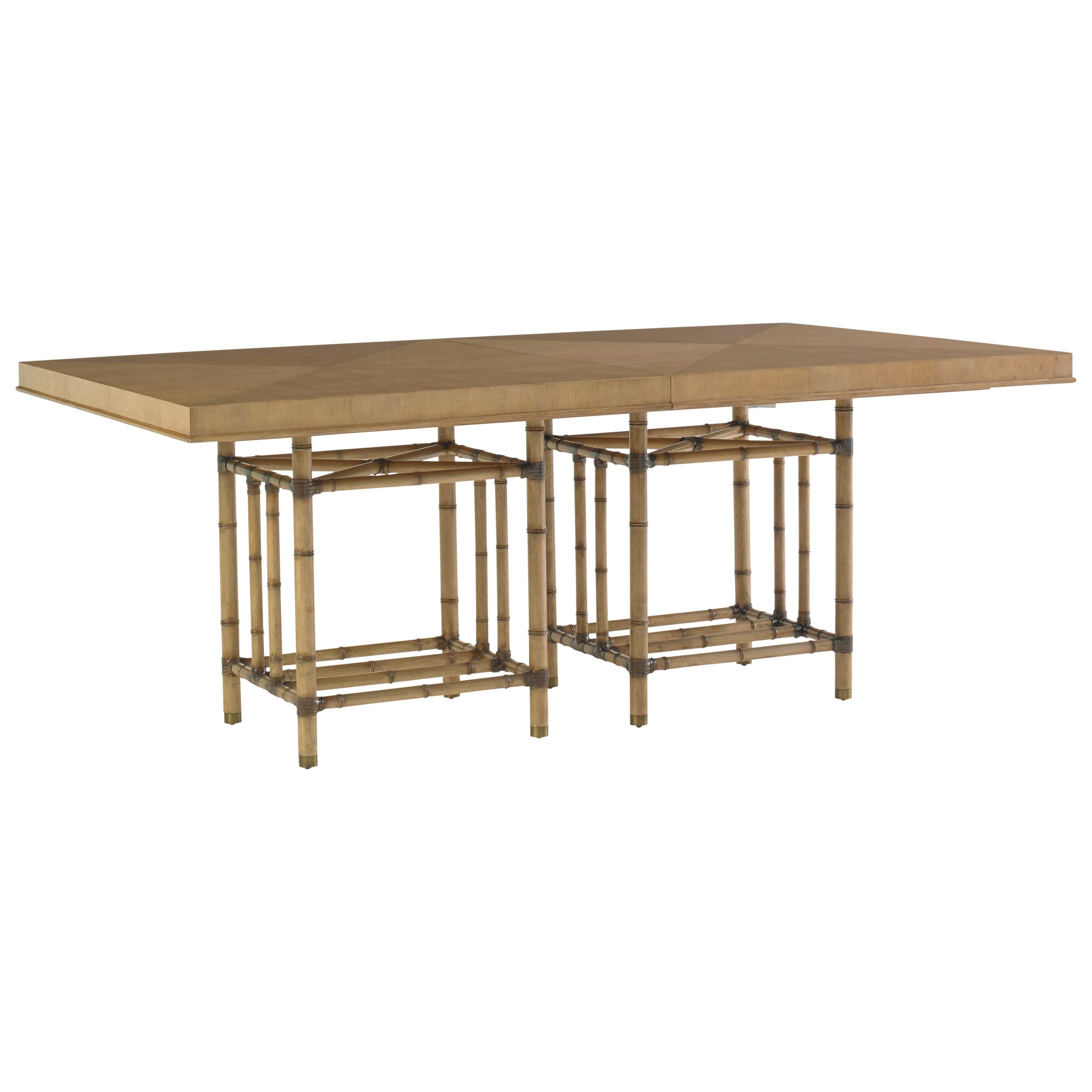 Tommy Bahama Home Twin Palms Caneel Bay Dining Table - Item Number: 558-876C