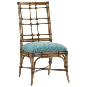 Tommy Bahama Home Twin Palms Customizable Seaview Side Chair