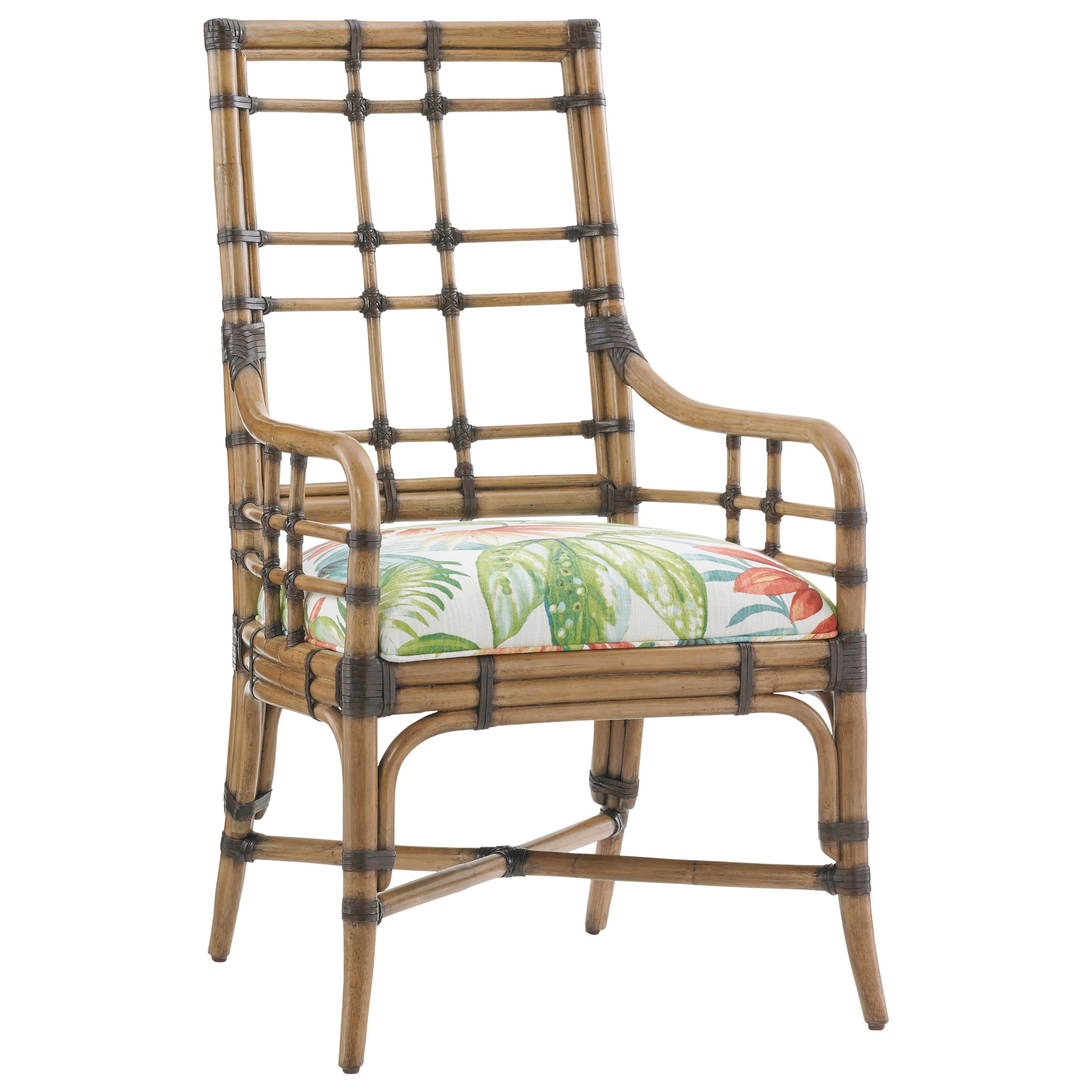 Twin Palms Customizable Seaview Arm Chair by Tommy Bahama Home at Baer's Furniture