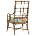 Tommy Bahama Home Twin Palms Customizable Seaview Arm Chair