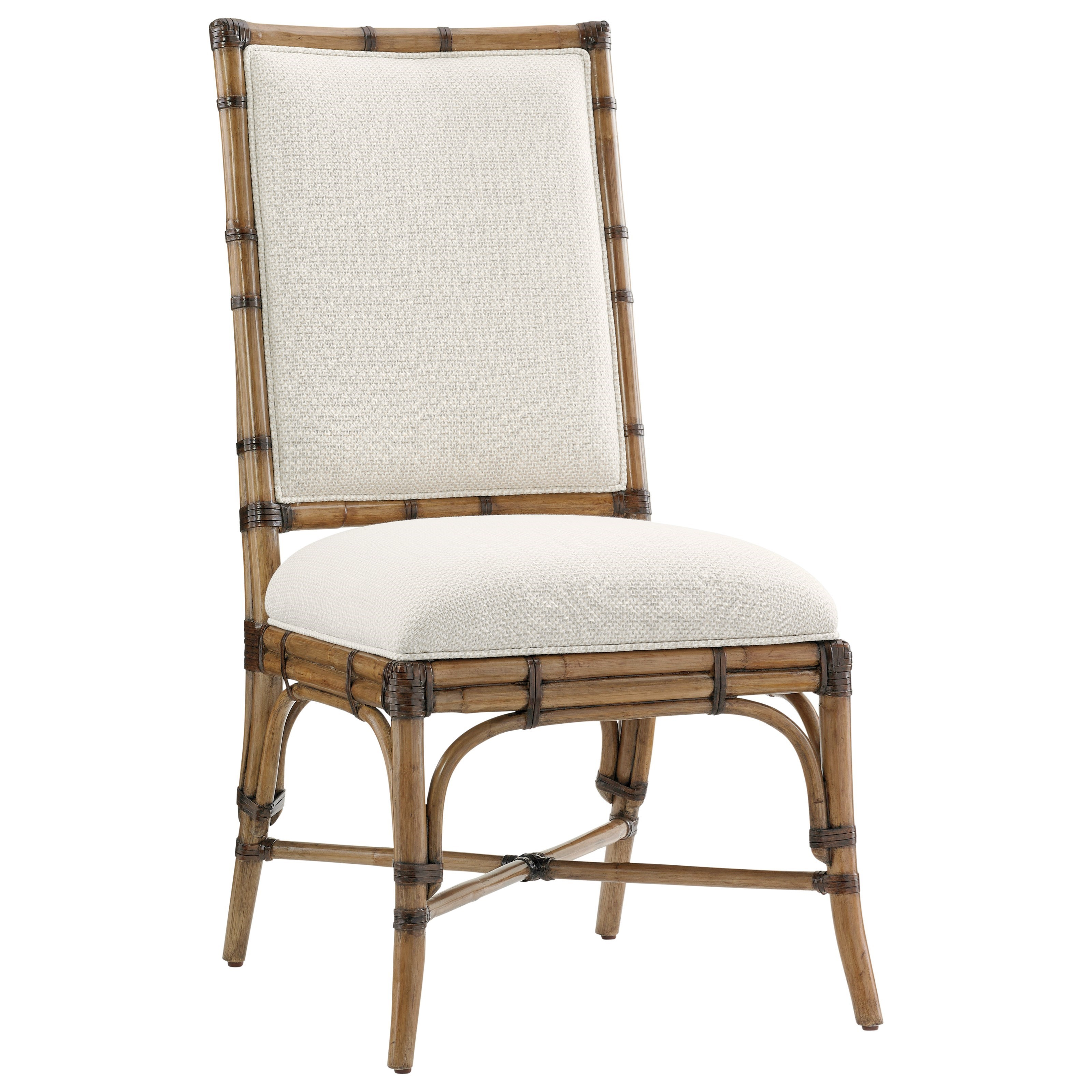 Tommy Bahama Home Twin Palms Summer Isle Side Chair (Married Fabric) - Item Number: 558-882-01
