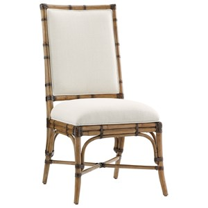 Tommy Bahama Home Twin Palms Summer Isle Side Chair (Married Fabric)