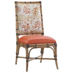 Tommy Bahama Home Twin Palms Customizable Summer Isle Side Chair