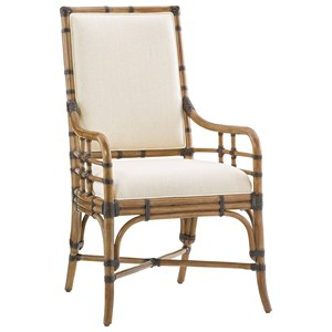 Tommy Bahama Home Twin Palms Summer Isle Arm Chair (Married Fabric)