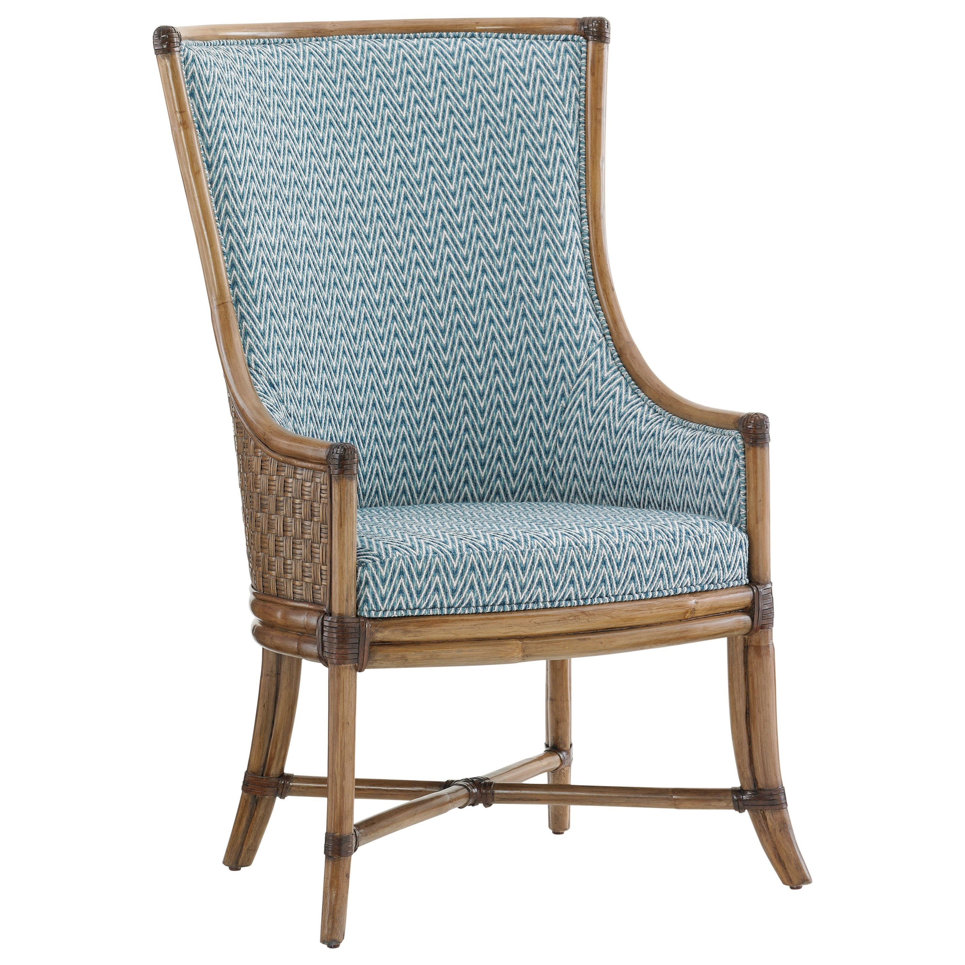Twin Palms Customizable Balfour Host Chair by Tommy Bahama Home at Baer's Furniture
