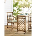 Tommy Bahama Home Twin Palms Customizable Lands End Counter Stool
