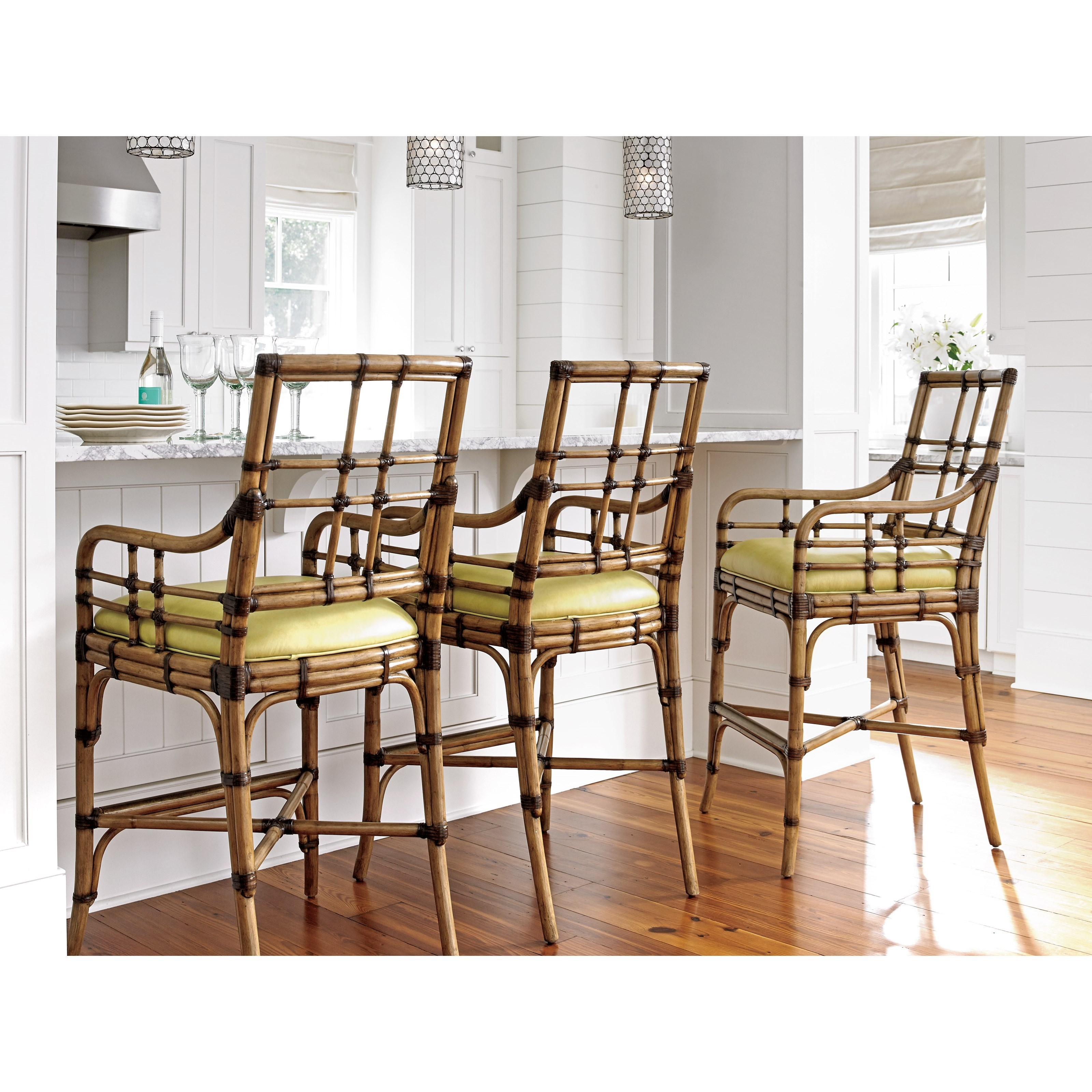 Tommy Bahama Home Twin Palms Customizable Lands End Bar