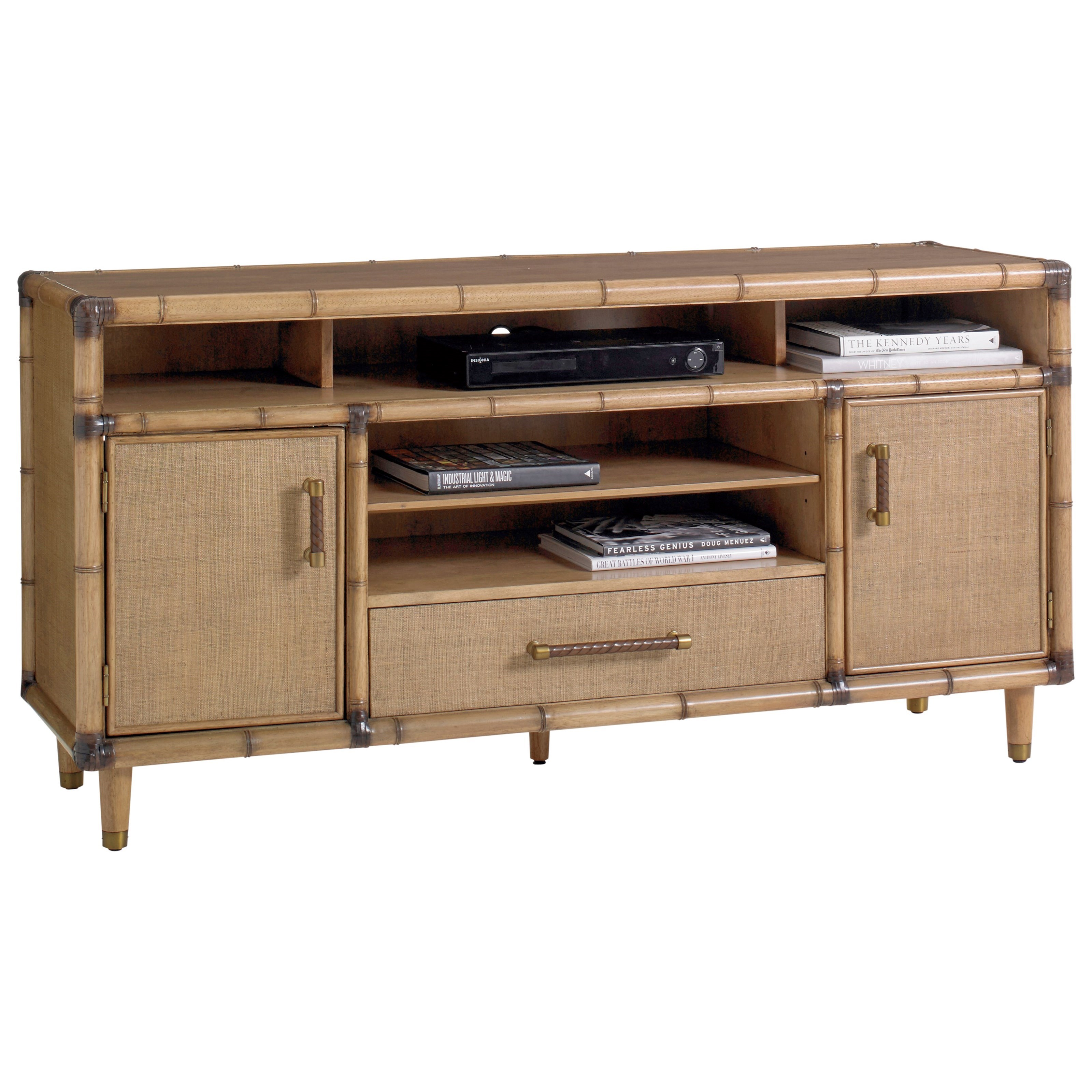 Tommy Bahama Home Twin Palms Windjammer Media Console - Item Number: 558-907