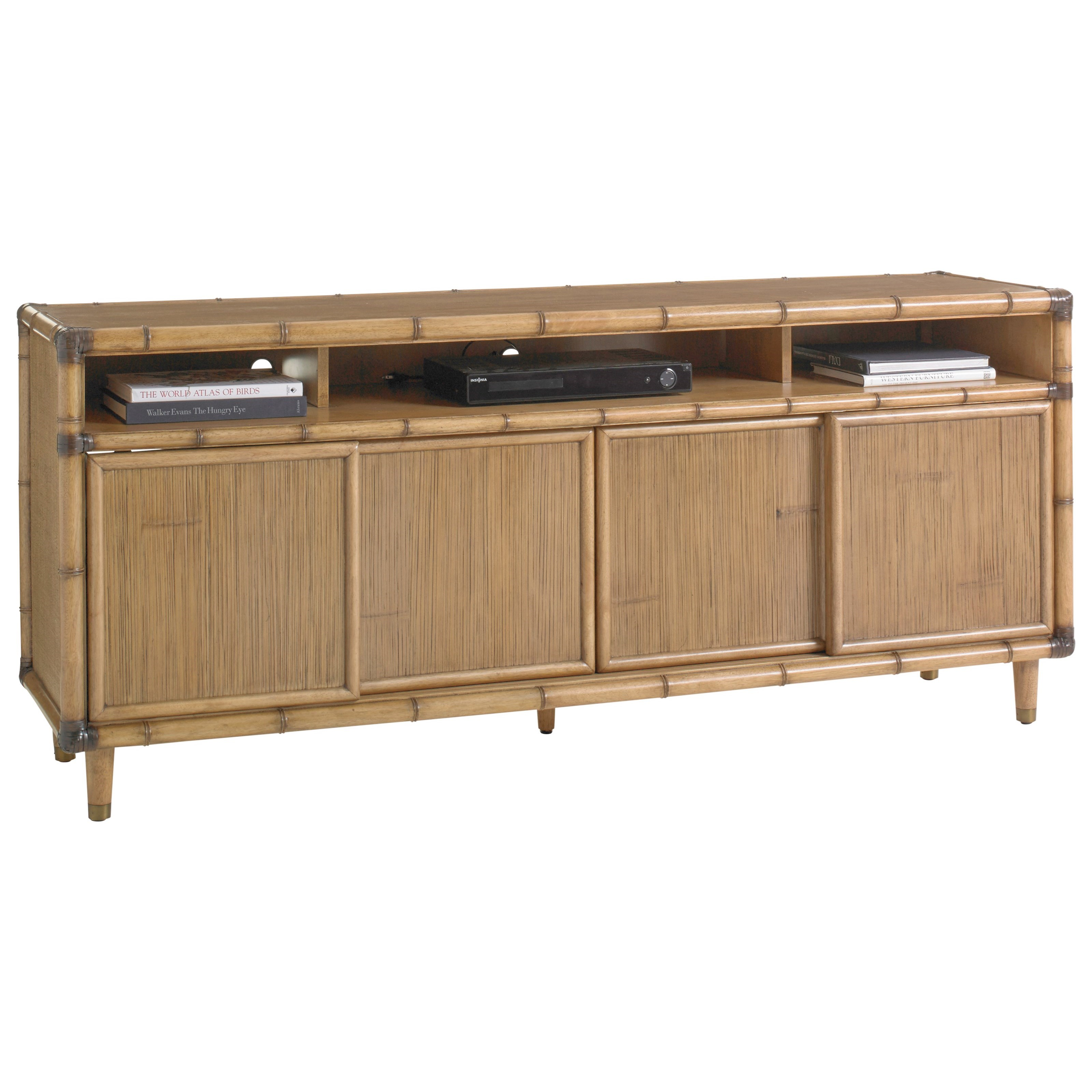 Twin Palms Sea Crest Media Console by Tommy Bahama Home at Baer's Furniture