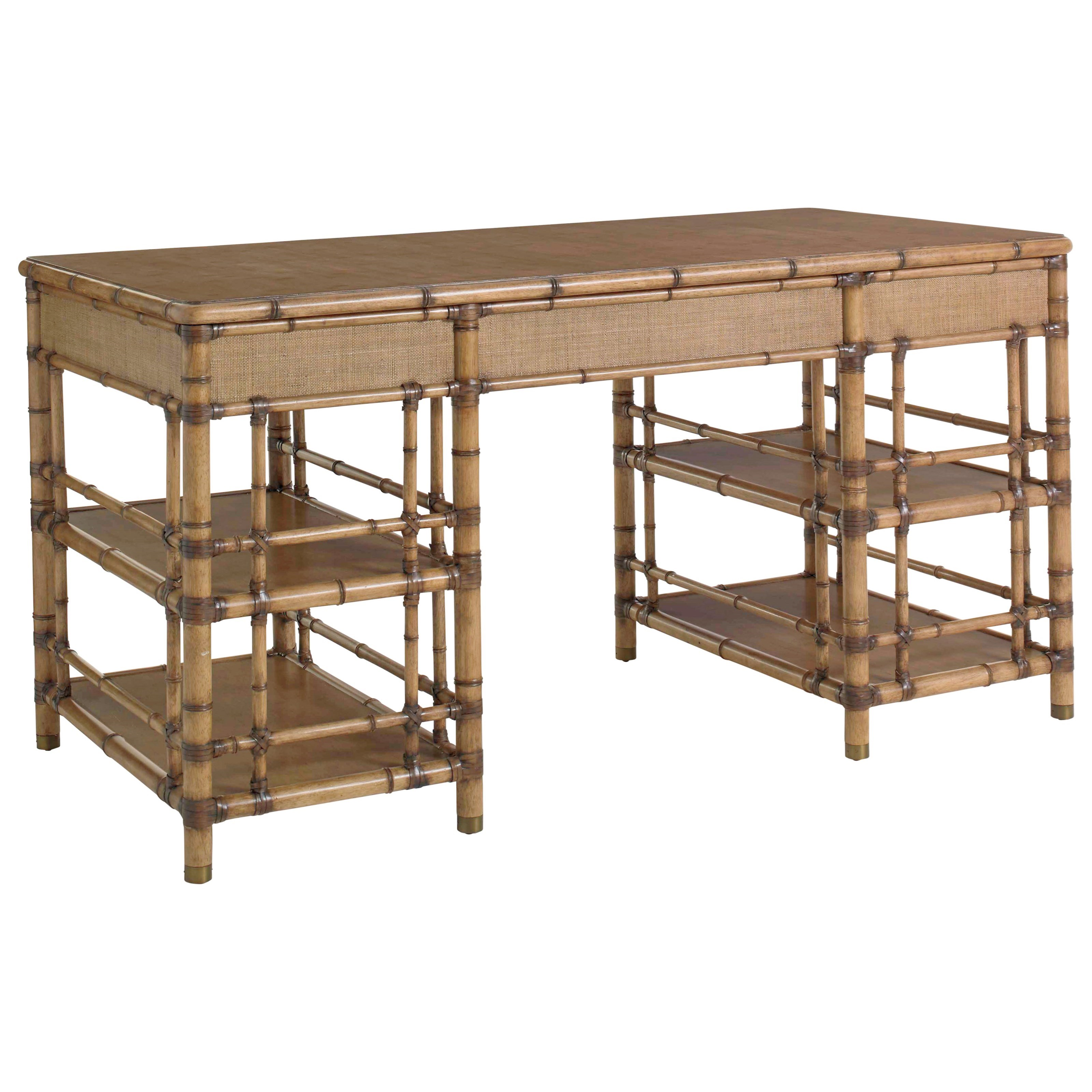 Tommy Bahama Home Twin Palms St Vincent Table Desk With