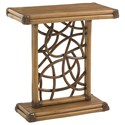 Tommy Bahama Home Twin Palms Angler Accent Table - Item Number: 558-952