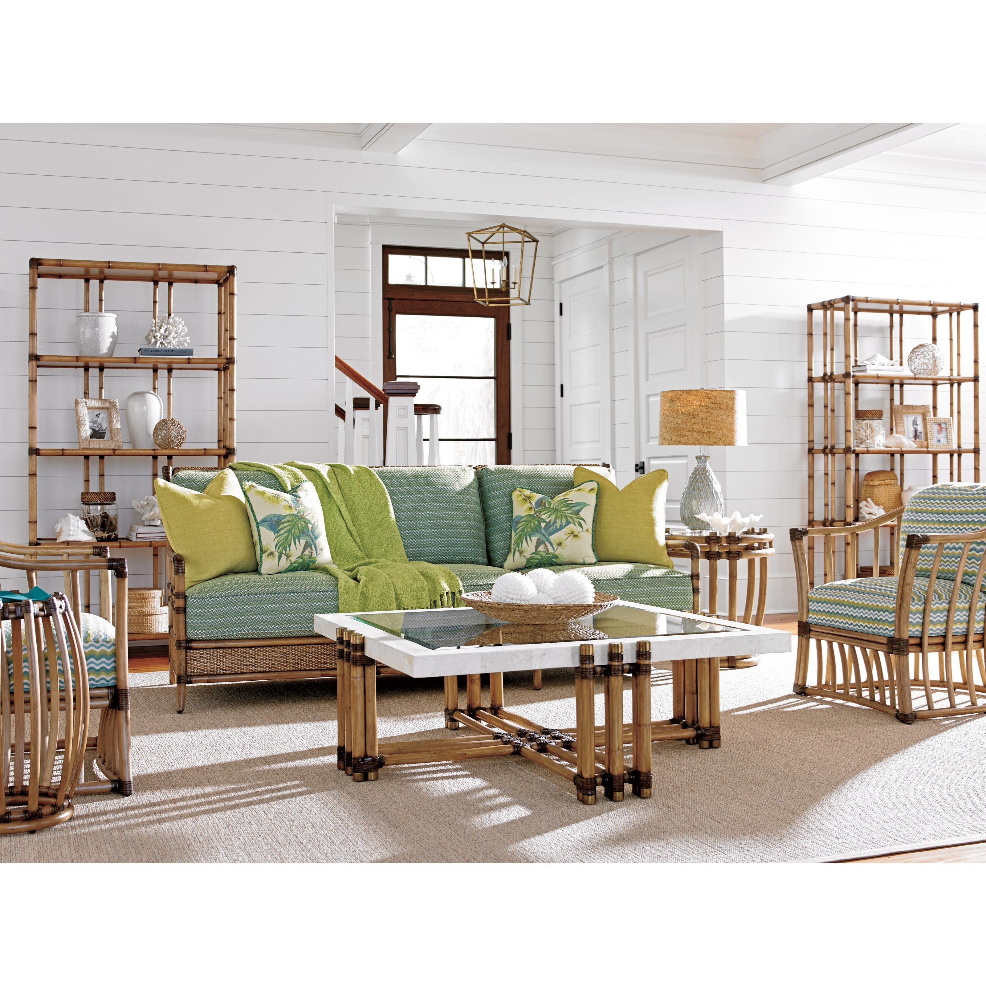 Tommy Bahama Home Twin Palms Weston Accent Table C S