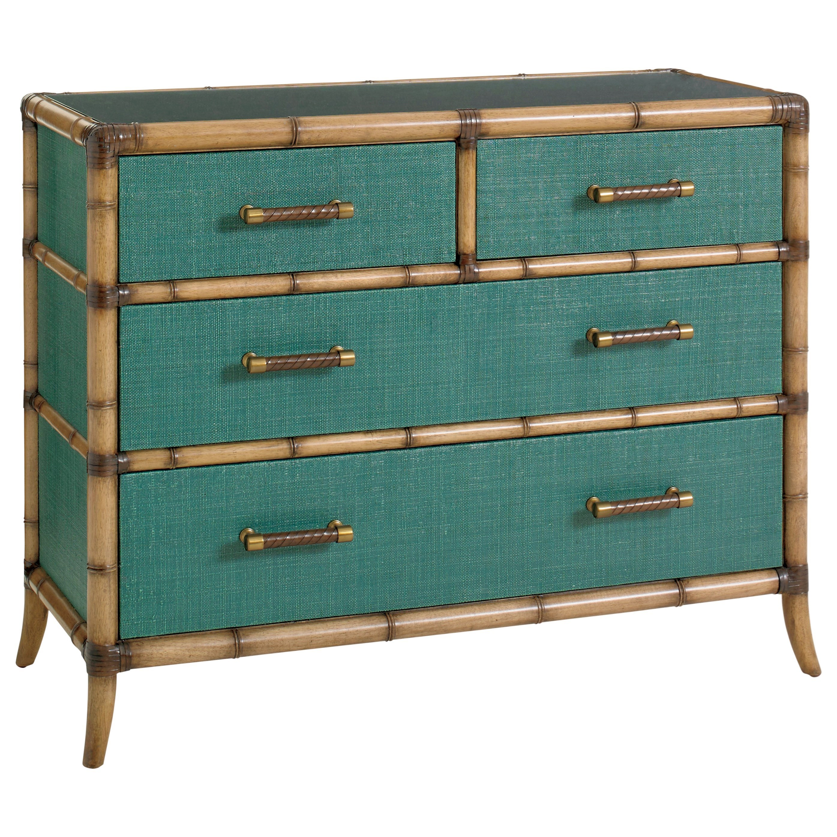 Tommy Bahama Home Twin Palms_Teal Accent Chest - Item Number: 560-624