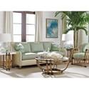 Tommy Bahama Home Twin Palms Koko Sofa with Nailhead Border