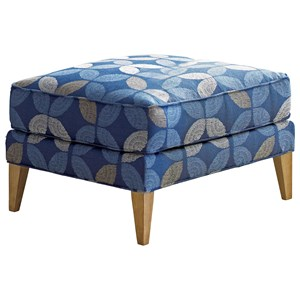 Tommy Bahama Home Twin Palms Coconut Grove Ottoman