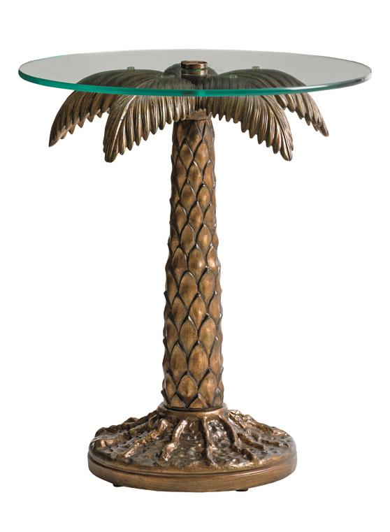Alfresco Living Palm Tree Table by Tommy Bahama Outdoor Living at Baer's Furniture
