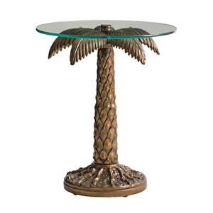 Tommy Bahama Outdoor Living Alfresco Living Palm Tree Table