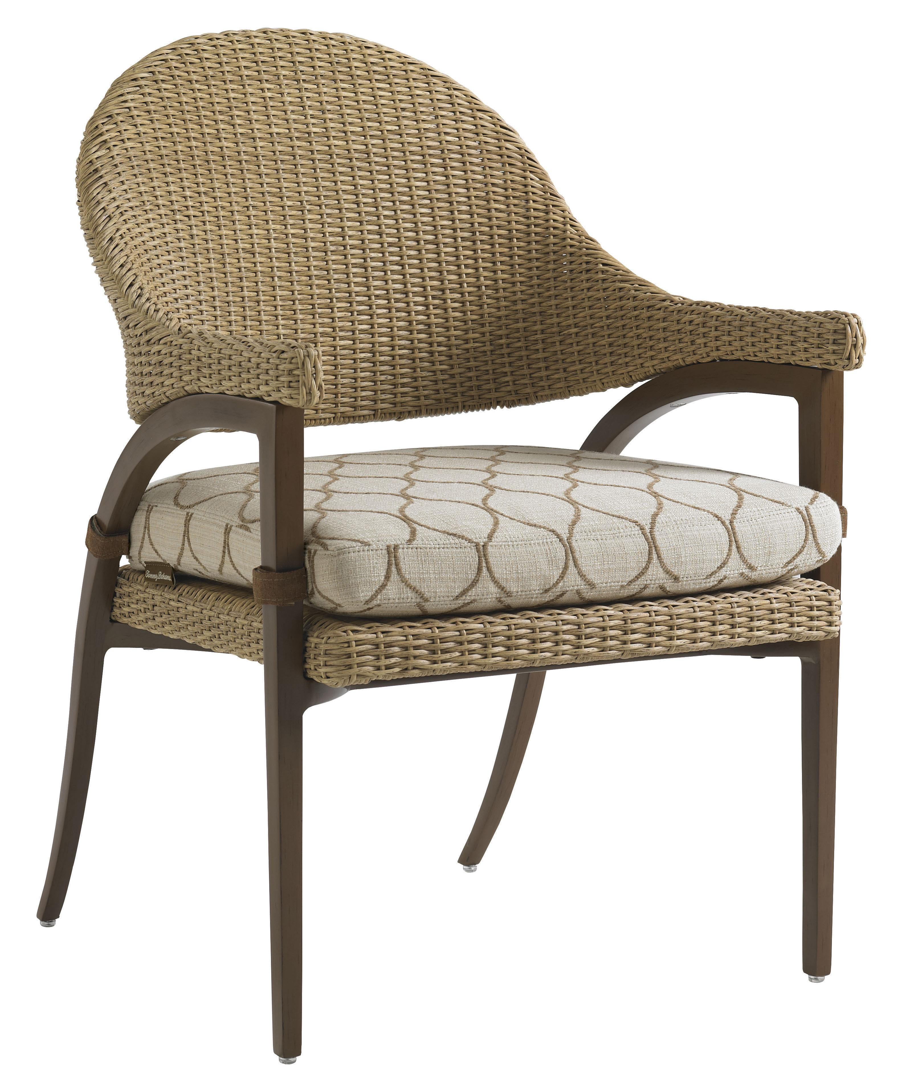 Tommy Bahama Outdoor Living Aviano Outdoor Dining Arm Chair - Item Number: 3220-13+CS3220-13